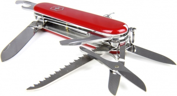 red swiss knife