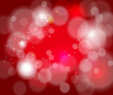 red bokeh background abstract circles design