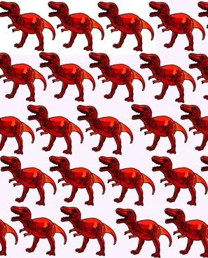 red trex background