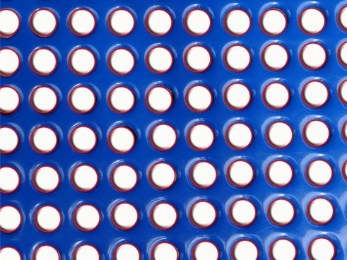 red white and blue fun shapes