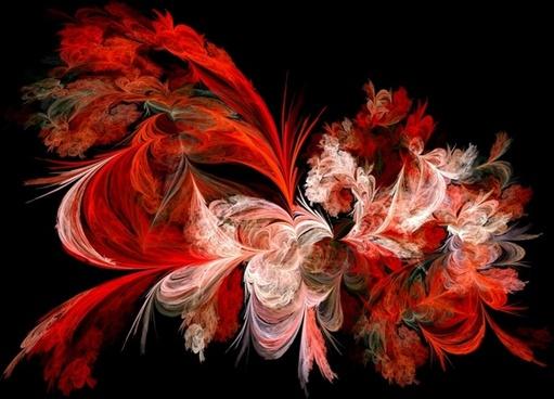 red white fractal