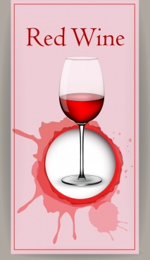red wine background glass decoration grunge splashing