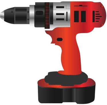 red workers drill