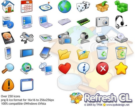 Refresh CL Icons Pack icons pack