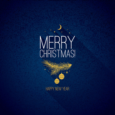 refreshing blue xmas art background vector