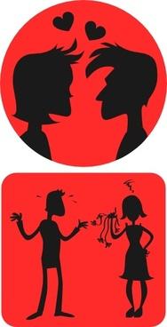 Relationships Love clip art