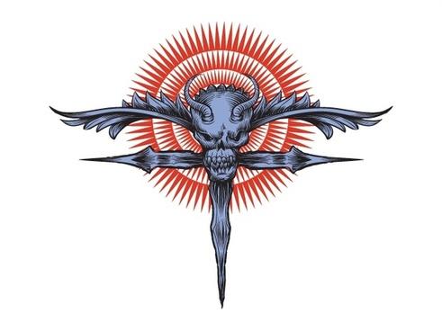 Religious Skull