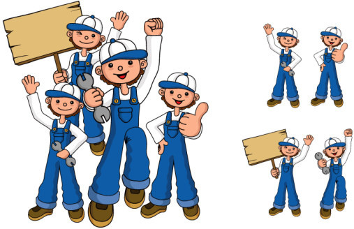 repair personnel character vector