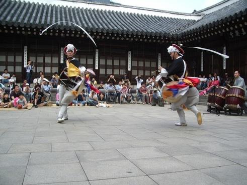 republic of korea dance party