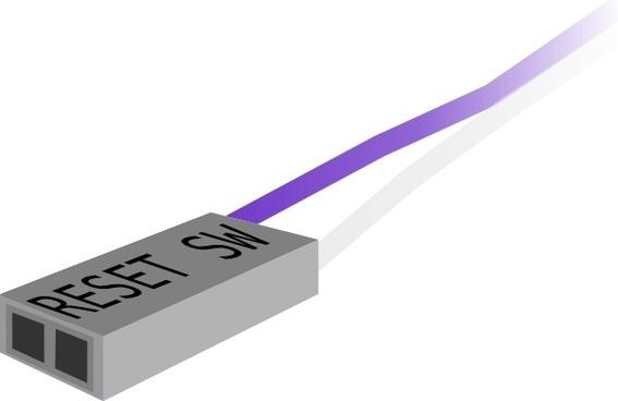 Reset Switch Plug clip art