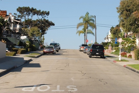 residential street