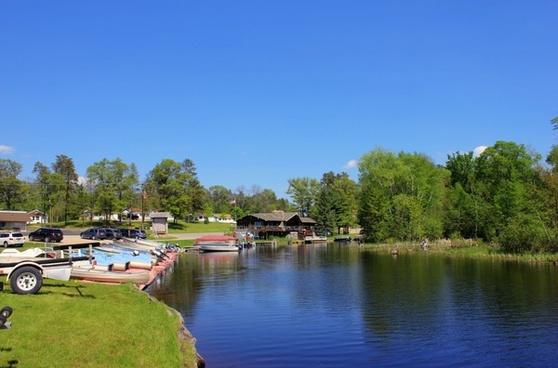 resort on the peshtigo in peshtigo river state forest wisconsin