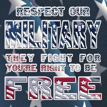 respect our military