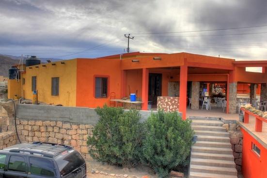 restaurant at boquilla del carmen coahuila mexico