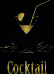 restaurant menu cover logos design elements vector