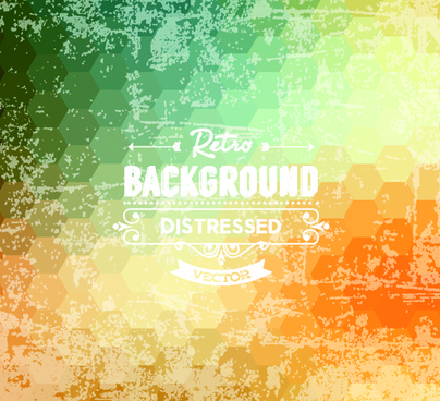 retro and grunge style background art vector