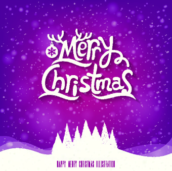 retro christmas creative vector backgrounds