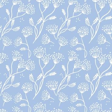 retro floral pattern 01 vector