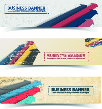 retro garbage business banner vector