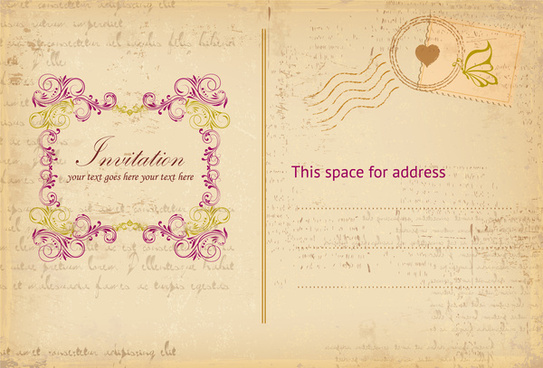 retro invitation letter