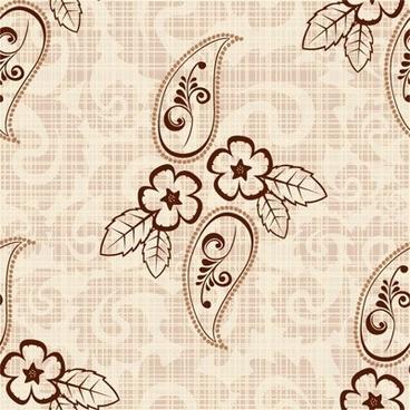 retro pattern background vector 5