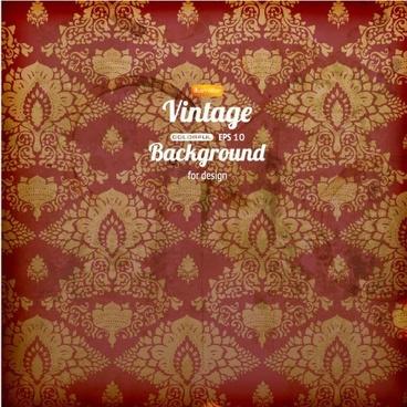 retro pattern shading background vector