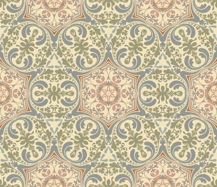 decorative pattern classic elegant european symmetric illusion