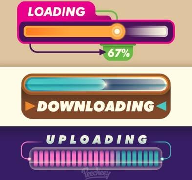 retro progression bar