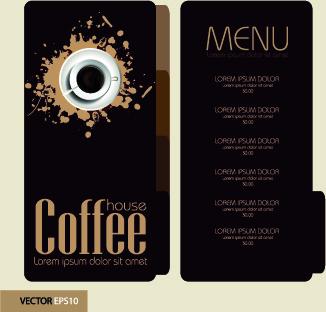 Background menu kopi