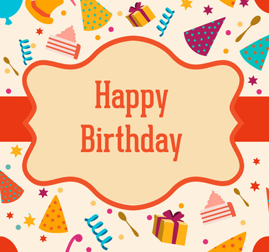 Download happy birthday frame free vector download (10,733 Free ...