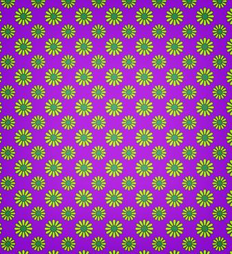 retro style seamless petal pattern