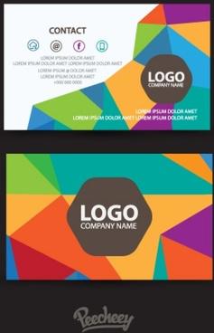 retro stylized business card