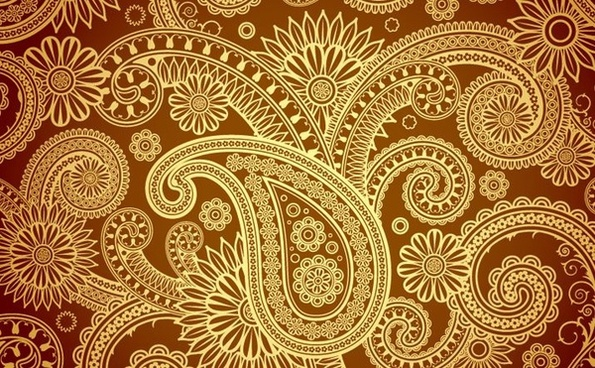 traditional silk backgound retro damask decoration