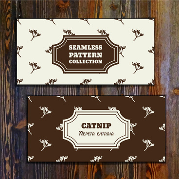 retro wooden background with banner vector
