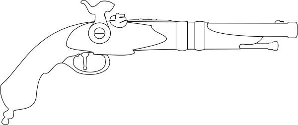 Revolver clip art