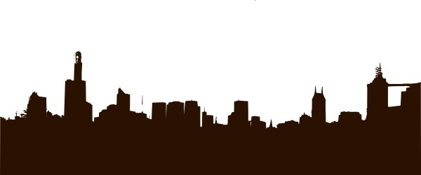Rgesthuizen City Skyline clip art