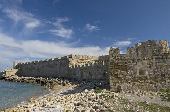 rhodes greece fortress