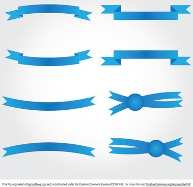 ribbon banner vectors