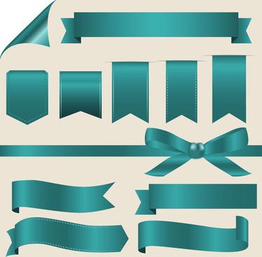 ribbon bow conner set