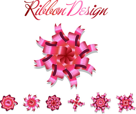 ribbon design set