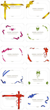 ribbon frames frames vector