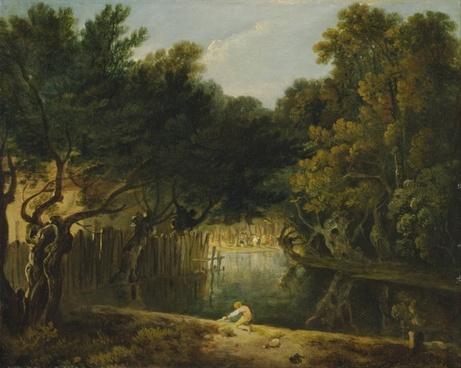 richard wilson painting oil on canvas