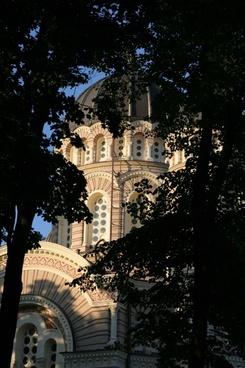 riga city architecture