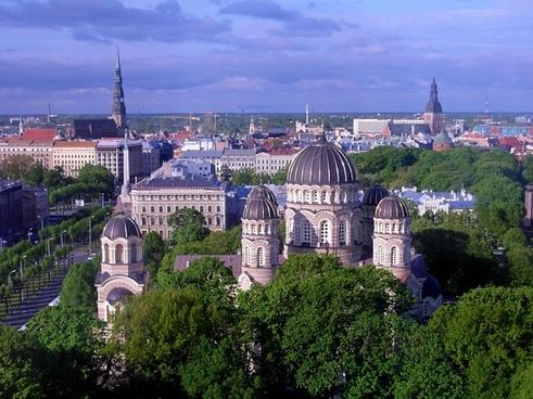 riga latvia city