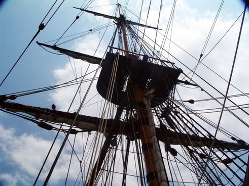 rigging sailing vessel segrelboot