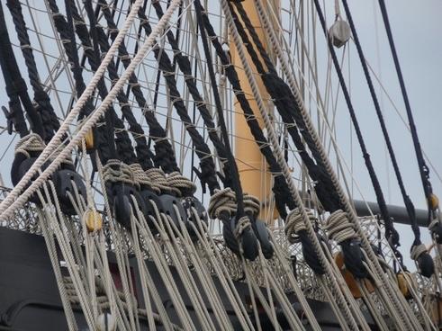 rigging thaw mast