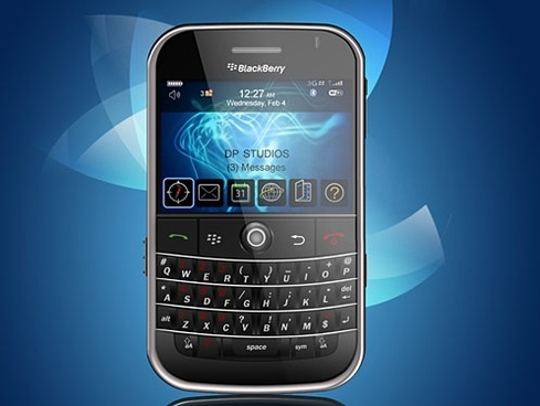 RIM Blackberry PSD Source