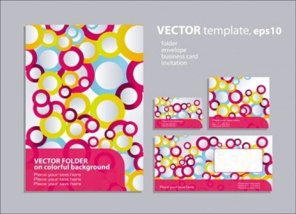 ring element of background pattern vector
