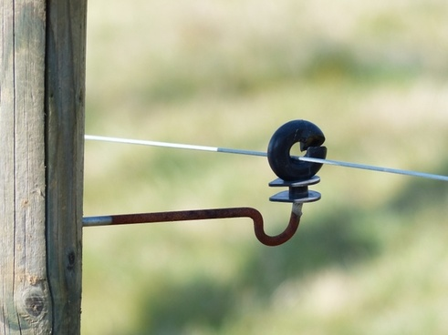 ring isolator insulator pasture fence insulator