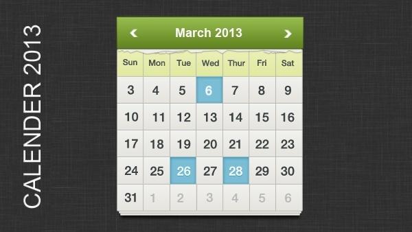 Ripped 2013 Calendar